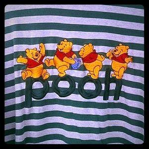Vintage Pooh Long Sleeve Disney Store Top